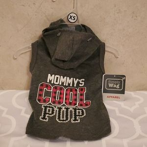 Simply Wag XS Mommy's Cool Pup outfit
